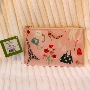 Kate Spade NWT Paris Pencil Pouch.  Originally $30